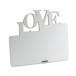Porta-retrato de MDF Texturizado Modelo Love