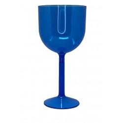 Taça de Gin Azul Cristal